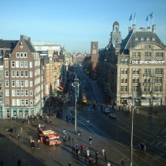 51 View of Dam Square