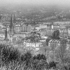 Rhys Jones#Bath Spa in the mist#1