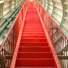 600h Red stairway 1544