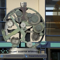 01 Clock at Jewellery Quarter Station 6456