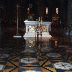 Monaco Cathedral Altar