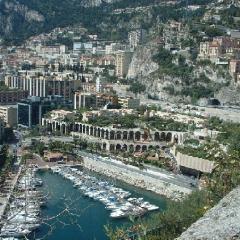Monaco harbour 1